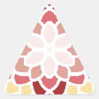 Moroccan Bloom Triangle Sticker
