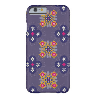 Moroccan Blue Floral Barely There iPhone 6 Case