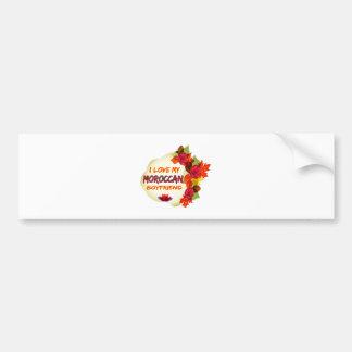 Moroccan Boyfriend Design Bumper Stickers