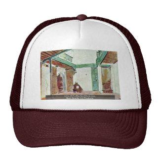 Moroccan Courtyard Trucker Hat