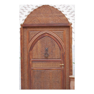 Moroccan door custom stationery
