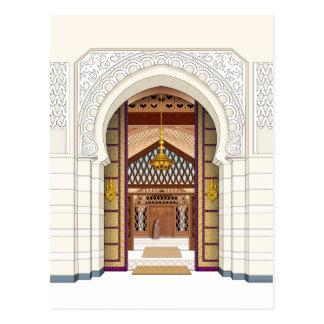 Moroccan Doorsc Postcard