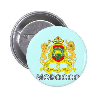 Moroccan Emblem 6 Cm Round Badge