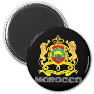Moroccan Emblem 6 Cm Round Magnet