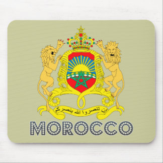 Moroccan Emblem Mouse Pad