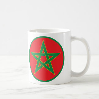Moroccan Flag Mug. Coffee Mug