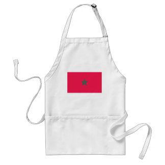 Moroccan Flag Standard Apron