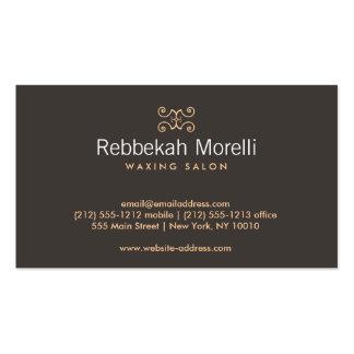MOROCCAN FLOURISH in WARMTH Business Card