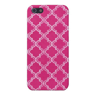 MOROCCAN FUCSIA FOUNDS IPHONE 5 iPhone 5/5S CASES