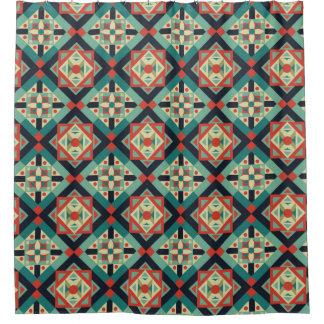 Moroccan Geometric Culture 1 Shower Curtain