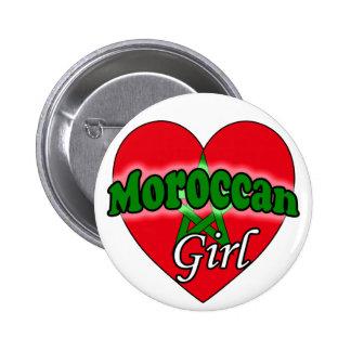 Moroccan Girl 6 Cm Round Badge
