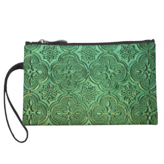Moroccan Glass Clutch Wristlet Clutches