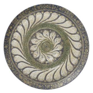 Moroccan handicraft design melamine plate
