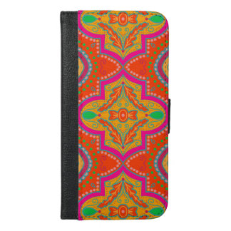 Moroccan lattice iPhone wallet case