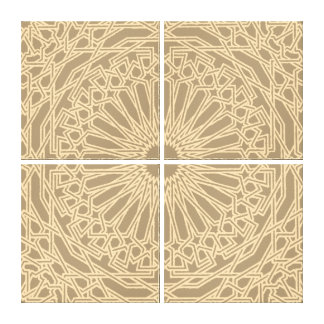 Moroccan Mosaic | Customizable Canvas Stretched Canvas Prints