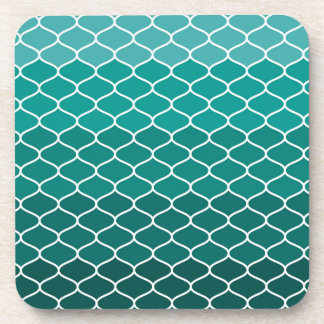 Moroccan pattern coaster