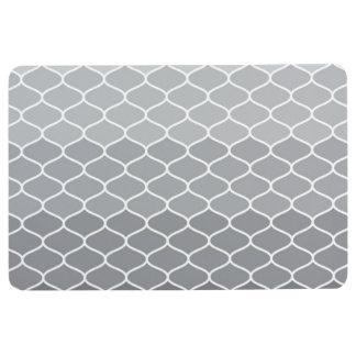 Moroccan pattern floor mat