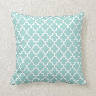Moroccan Pattern | Mint Green Cushion