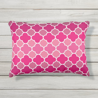Moroccan pattern outdoor cushion