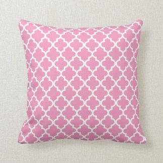 Moroccan Pattern | Pink Pillow