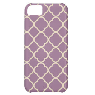 Moroccan Pattern Purple iPhone 5C Case