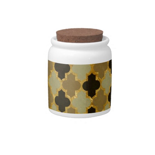 Moroccan Pattern Candy Jar