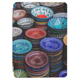 Moroccan Plates At Market iPad Air Cover