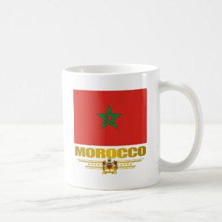 """Moroccan Pride"" Basic White Mug"