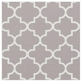 Moroccan Quatrefoil Patterned Fabric