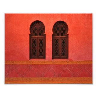 Moroccan Riad, Marrakesh Morocco Art Photo