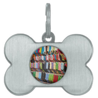 Moroccan Shoes Pet Tag