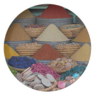 Moroccan Spices Plates