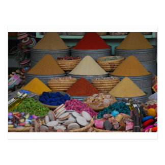 Moroccan Spices Postcard
