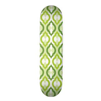Moroccan Style Pattern Skateboard