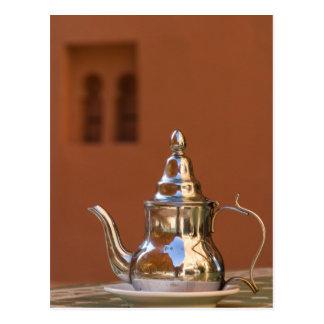 Moroccan Teapot Postcard