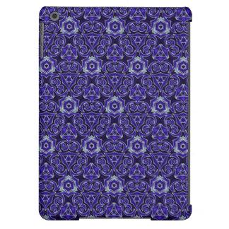 Moroccan Textile Pattern Blue iPad Air Case