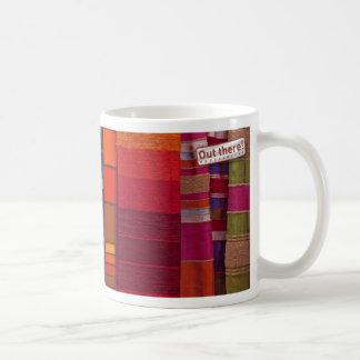 Moroccan Textiles Basic White Mug