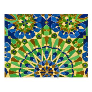 Moroccan Tile Postcard
