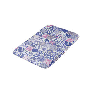 Moroccan Bath Mats Amp Rugs Zazzle Co Uk