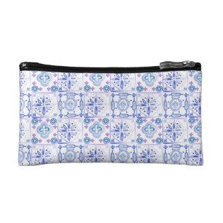 Moroccan Tiles Cosmetics Bag