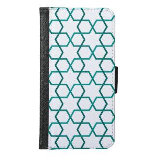 Moroccan weave pattern samsung galaxy s6 wallet case