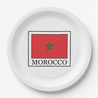 Morocco 9 Inch Paper Plate