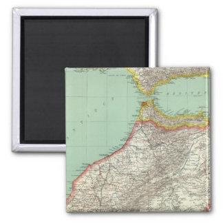 Morocco and Algeria Magnet