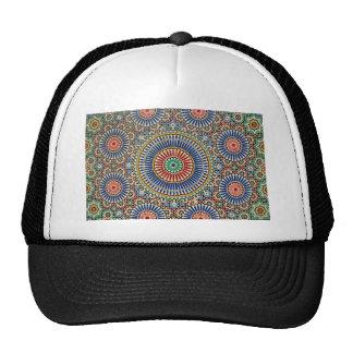 morocco arab mosaic islam religious pattern cap
