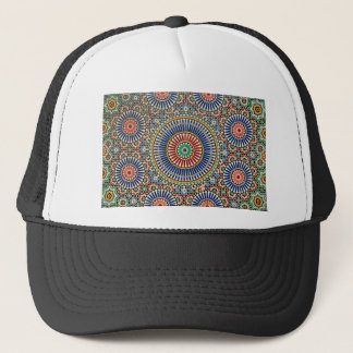 morocco arab mosaic islam religious pattern trucker hat