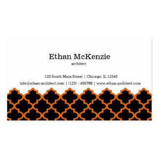 Morocco artchitect pack of standard business cards