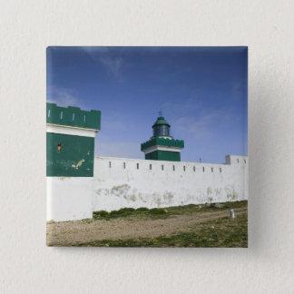 MOROCCO, Atlantic Coast, BEDDOUZA: Cap Beddouza 15 Cm Square Badge