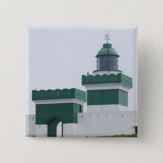 MOROCCO, Atlantic Coast, BEDDOUZA: Cap Beddouza 2 15 Cm Square Badge