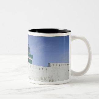 MOROCCO, Atlantic Coast, BEDDOUZA: Cap Beddouza Two-Tone Coffee Mug