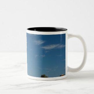 MOROCCO, Atlantic Coast, CAP RHIR: Cap Rhir Two-Tone Coffee Mug